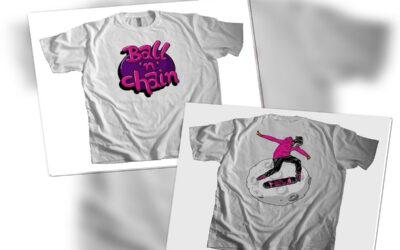 "Brand new ""Ball n' Chain"" T-Shirt"
